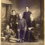 Stevenson family (likely taken in Royat during the summer of 1883).
