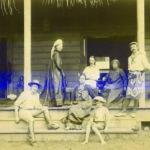 Family at Vailima, Samoa